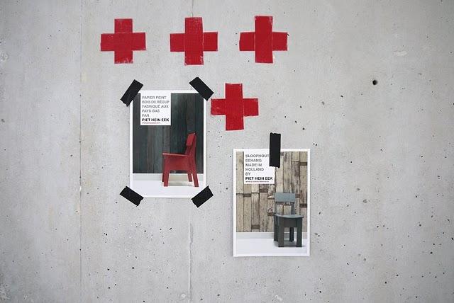 Piet Hein Eek sloophout behang
