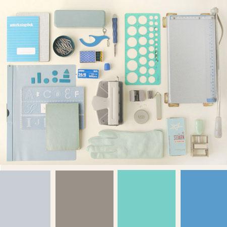 Kleurpalet van de week – Fris blauw