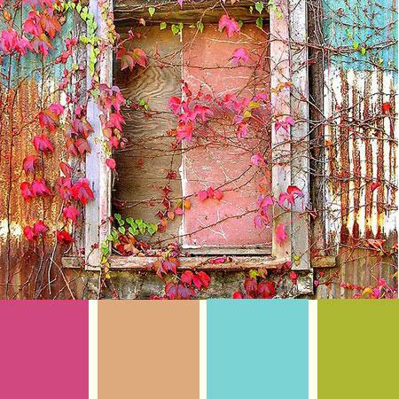 Paleta de colores de la semana – colorido del otoño