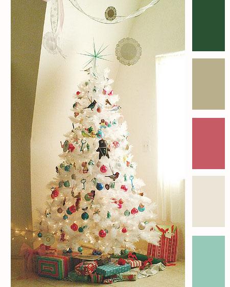 Kleurpalet van de week – Frisse kerst