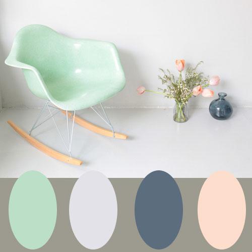 Kleurpalet- Fris pastel
