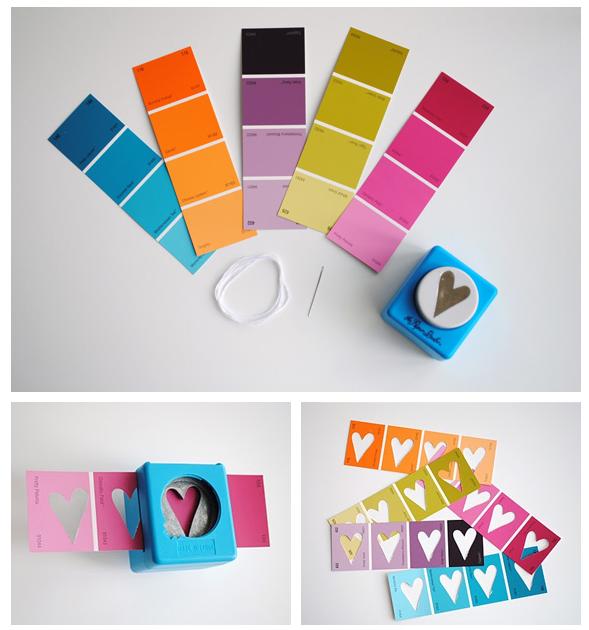 DIY: Kleurstalen