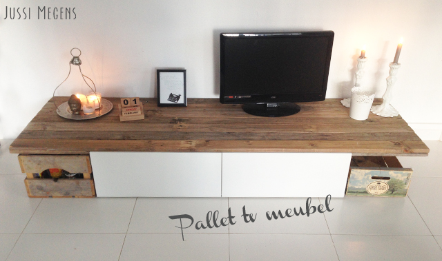 DIY pallet tv-meubel