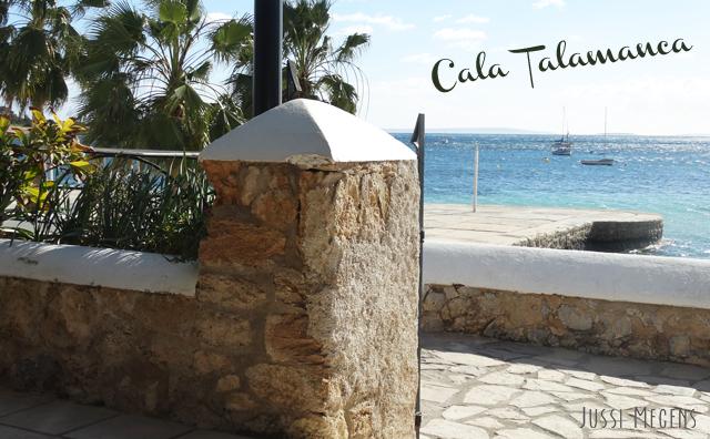 Cala Talamanca, Ibiza. The biggest beach close to Ibiza town with loads of facilities!