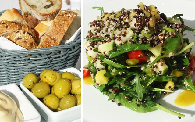 cotton beach club-beach-beach bar-beach club ibiza white-dinner-lunch-view cala-tarida-platja-salads-sushi