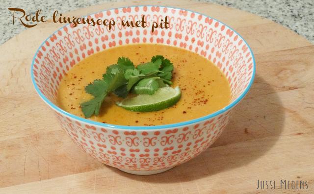 Menjar- Sopa de llenties vermelles picant! Dit recept van de Groene Meisjes staat in een handomdraai op tafel!